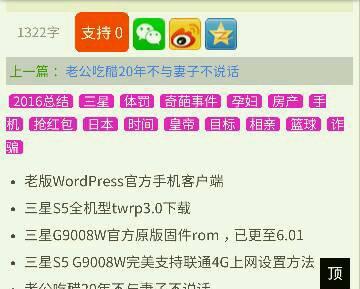 让WordPress自动为文章添加tags标签
